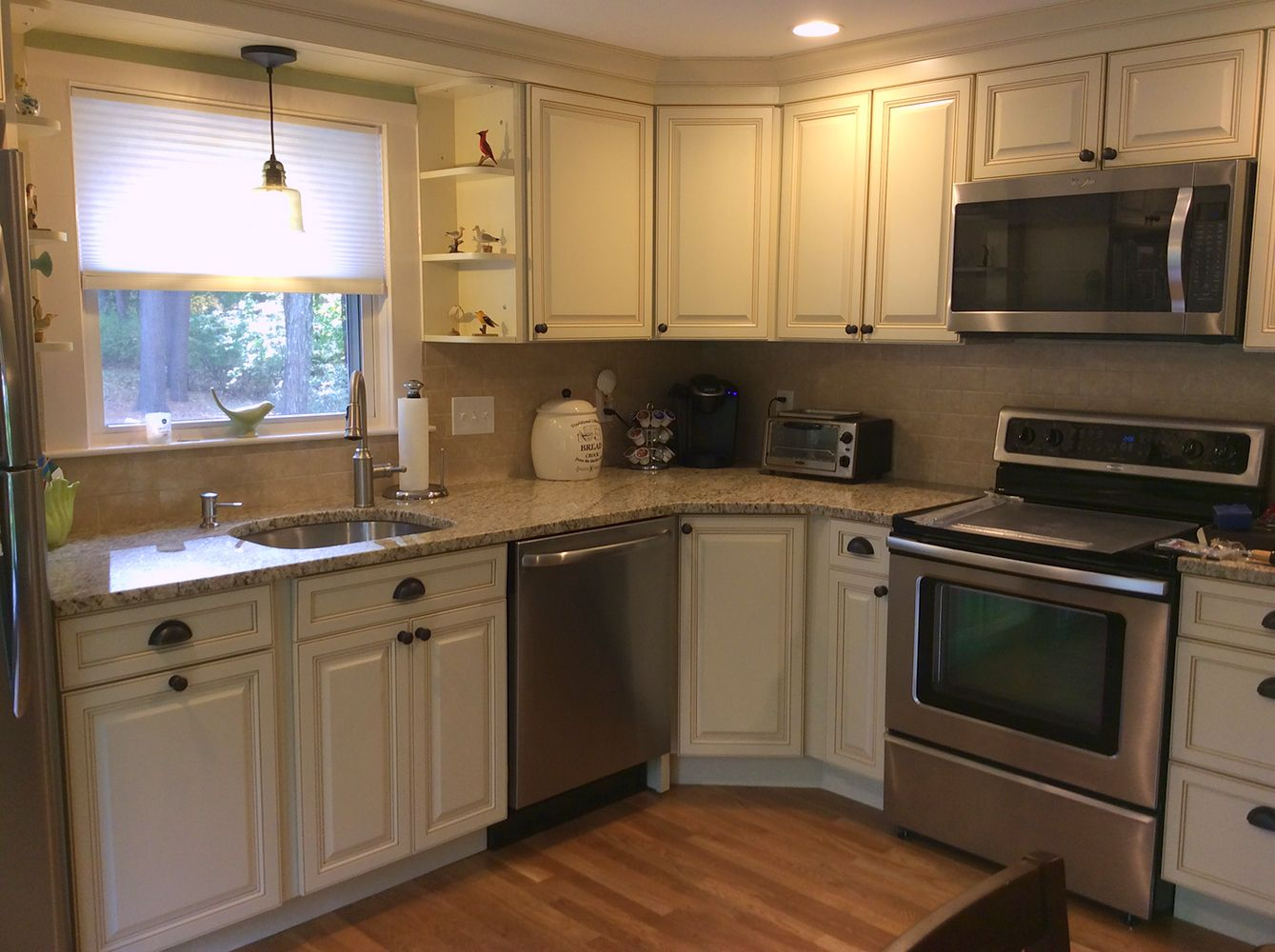 Lots of cabinets in a small space! | Kitchen cabinet ...