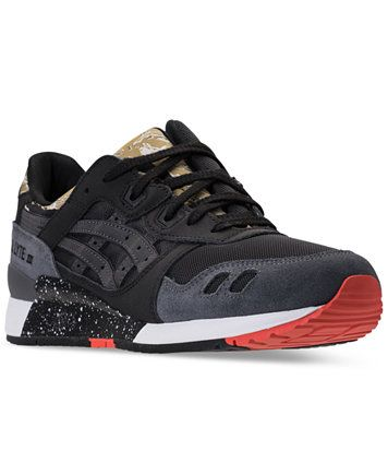 asics men's gellyte iii casual sneakers from finish line
