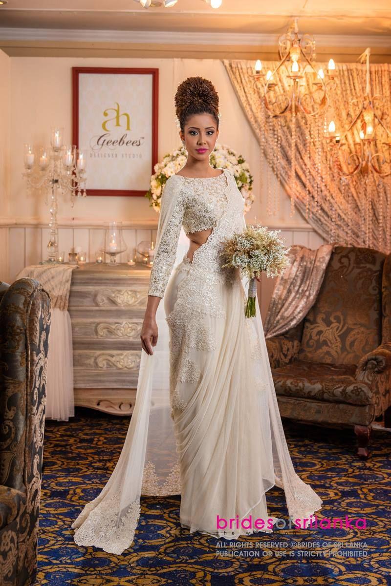 Sari wedding dress  Pin by Randula Madapatha on favorite  Pinterest  Saree Wedding