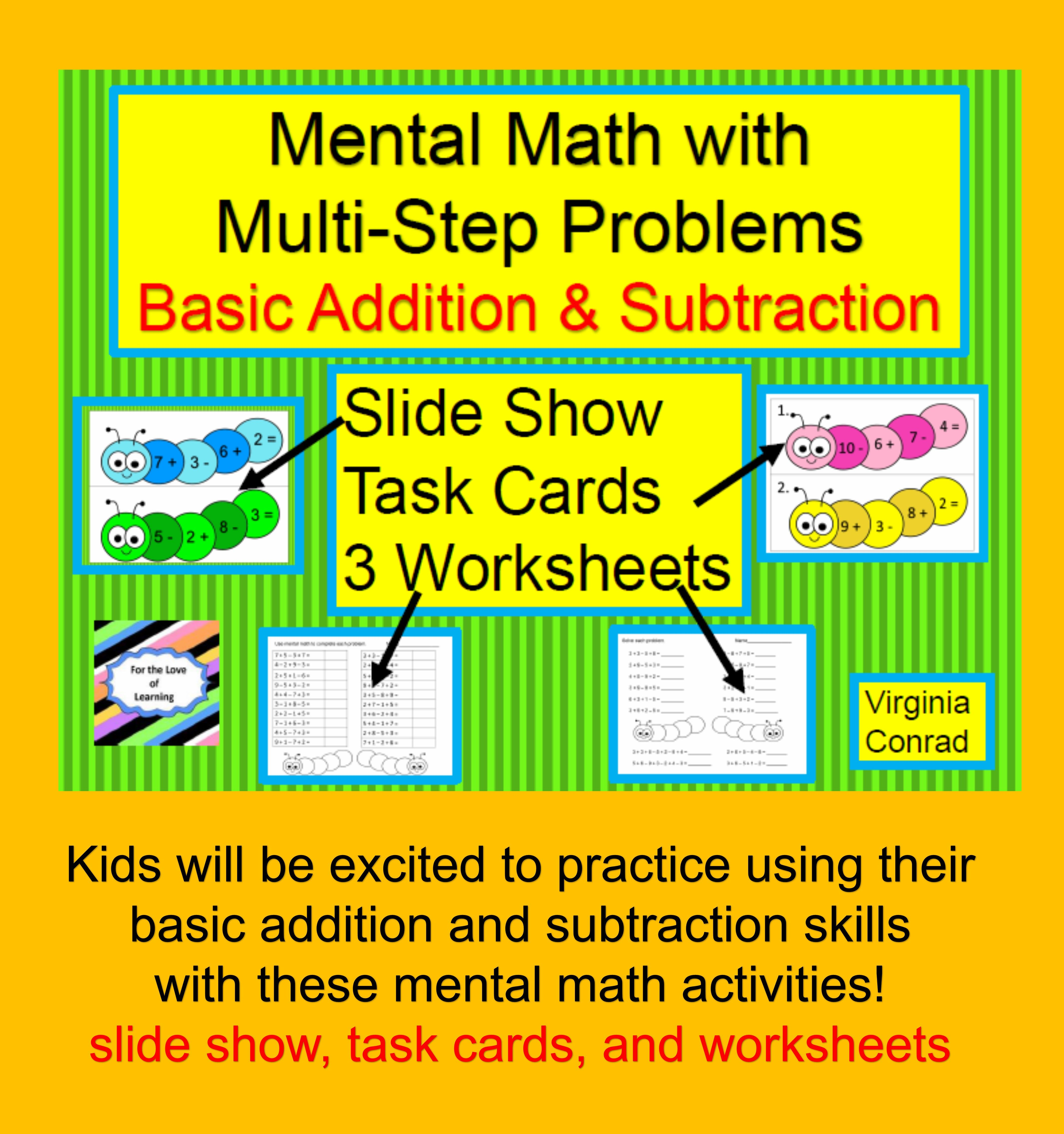 Mental Math Using Basic Facts In Multi Step Problems
