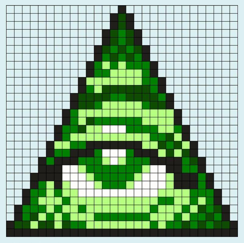 Pin By Berna Sahin On Inspirace Easy Pixel Art Pixel Art Grid Pixel Art