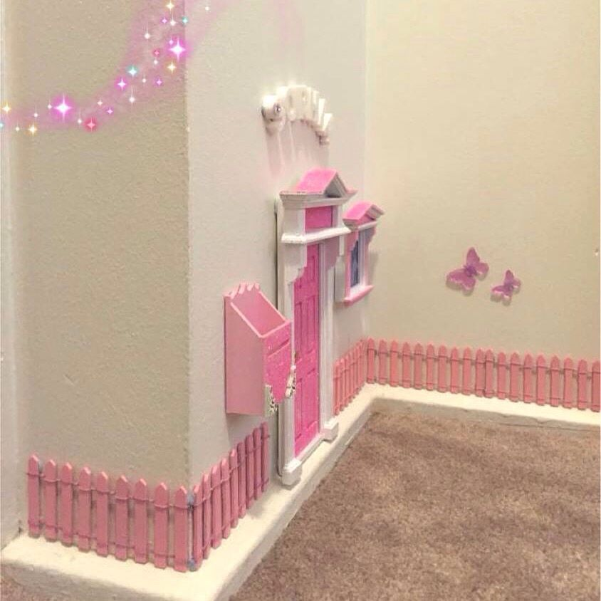 Charmant Opening Fairy Doors For My Daughter In Her Room. And If She Goes Through  The Door, It Will Open Into Her Own Play Room Which Can Be Converted Into A  ...