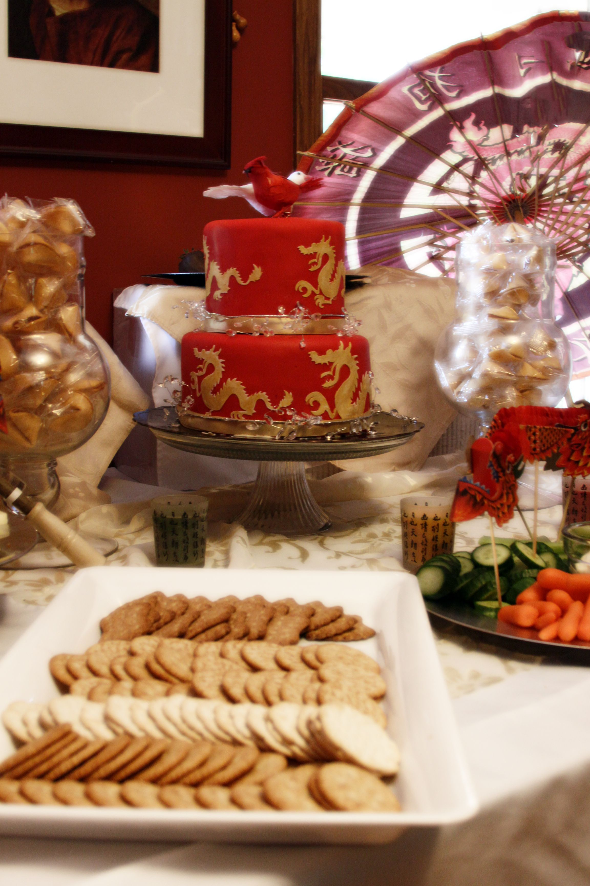 Chinese new yeargood luck party chinese party asian