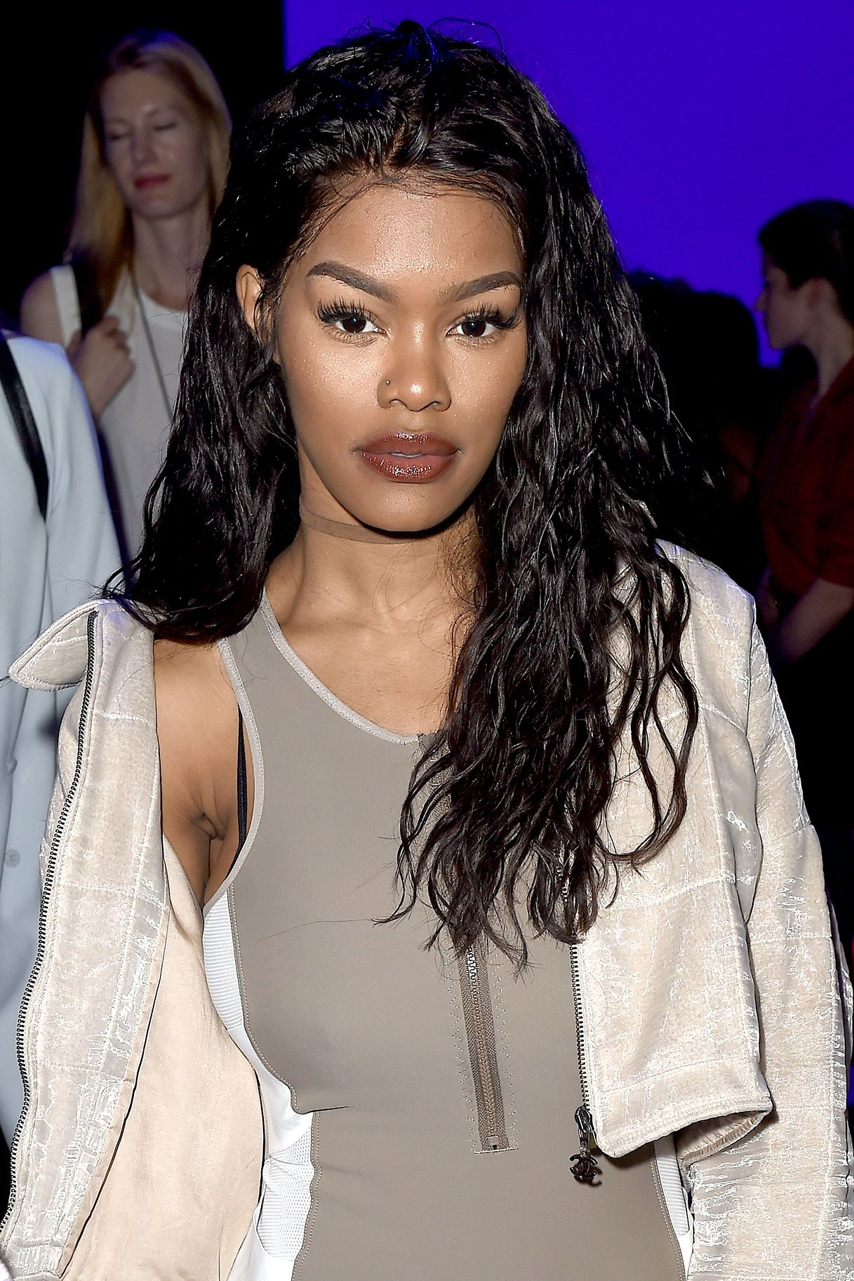 Kanye S Fade Star Teyana Taylor Dishes On That Shower Scene With Her Man Hair Styles 2016 Teyana Taylor Beauty Videos