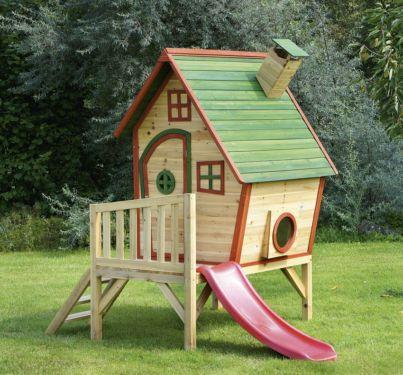 Kinderspielhaus Holzhutte Spielhaus Spielgerat Kinderspielhaus Sandkasten Garten