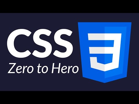 Css Tutorial Zero To Hero Complete Course Youtube Css Tutorial Youtube Video Developer Development Program Css Tutorial Css Cascading Style Sheets
