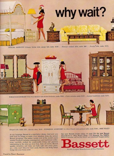 Bassett Furniture, 1969
