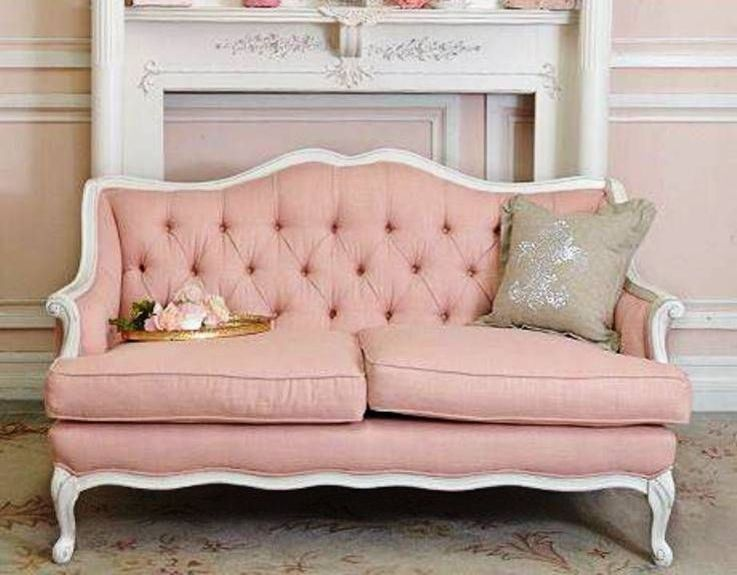 15 Dazzling and Chic Pink Sofa Ideas | Rilane - We Aspire to Inspire ...