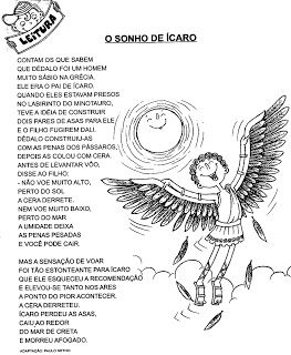 ATIVIDADES HISTÓRIAS INFANTIS CONTOS FÁBULAS LENDAS EXERCÍCIOS INTERPRETAÇÃO DE TEXTO III   PORTAL ESCOLA