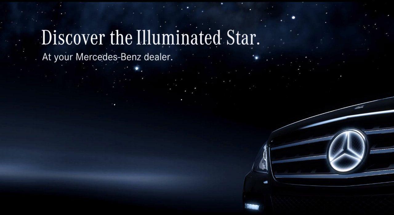 Mercedes benz illuminated star graphic design logos and for Mercedes benz illuminated star