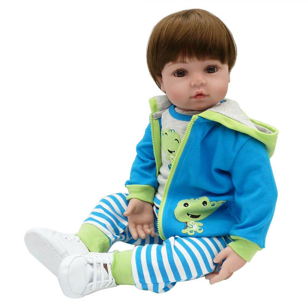 22/'/' Reborn Clothing Cotton Doll Lifelike Baby Clothes Short Pants Set pink