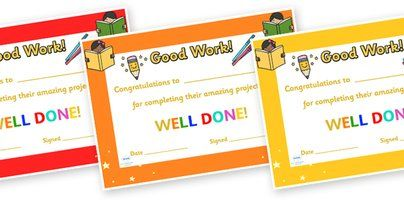preview congratulations for completing your project certificate