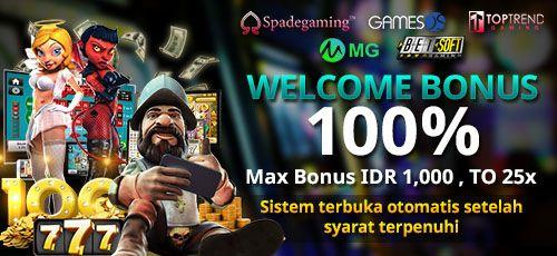 Pin Di Slot Judi Promo Bonus Welcome Bonus 100