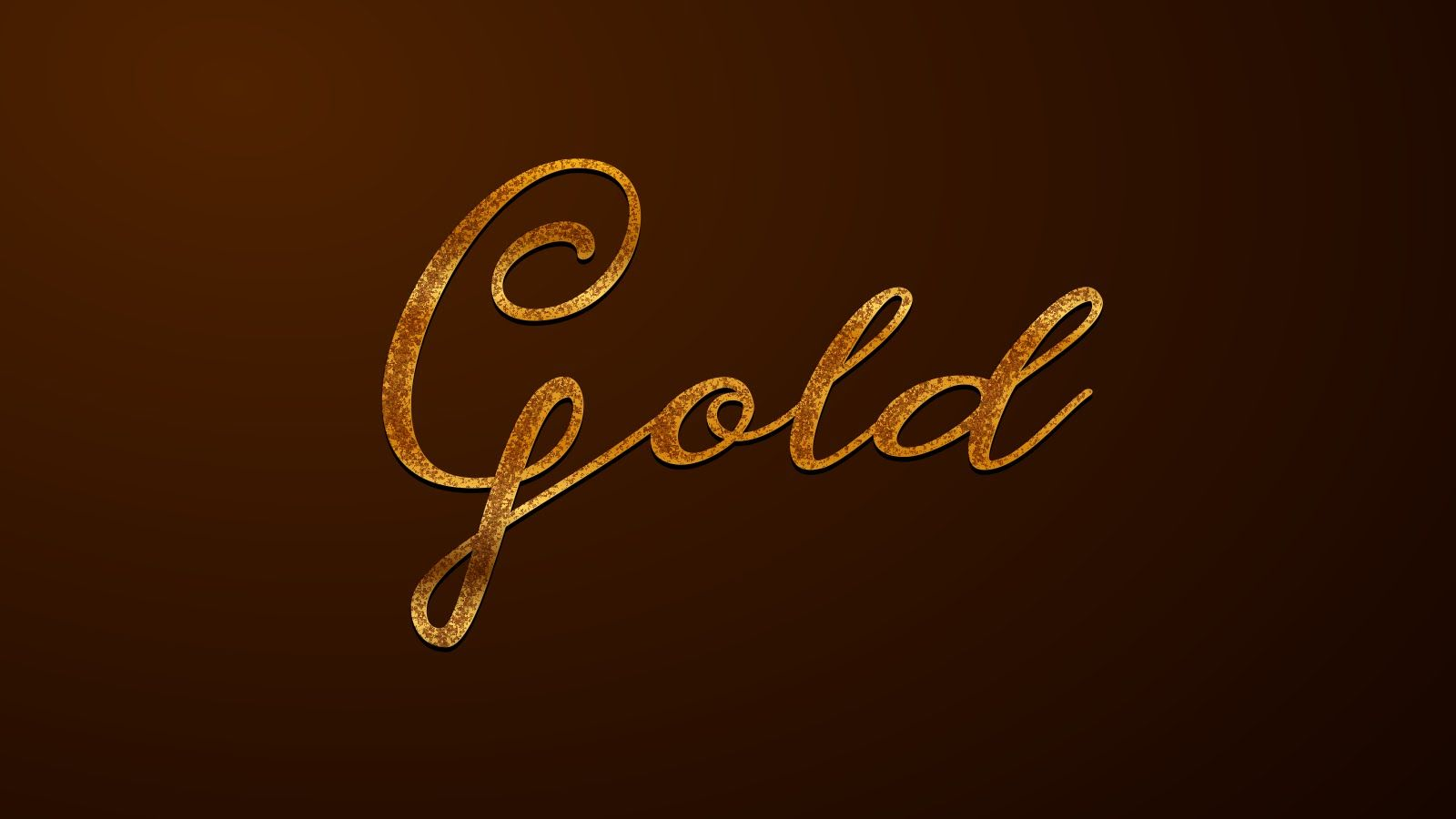 Gold Foil: CorelDraw Text Effect Tutorial #7 | coreldraw