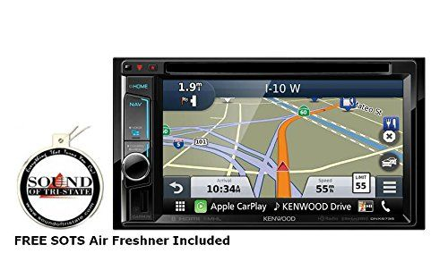 """Kenwood DNX573S 6.2"""" DVD CD Navigation Receiver with a FR..."""