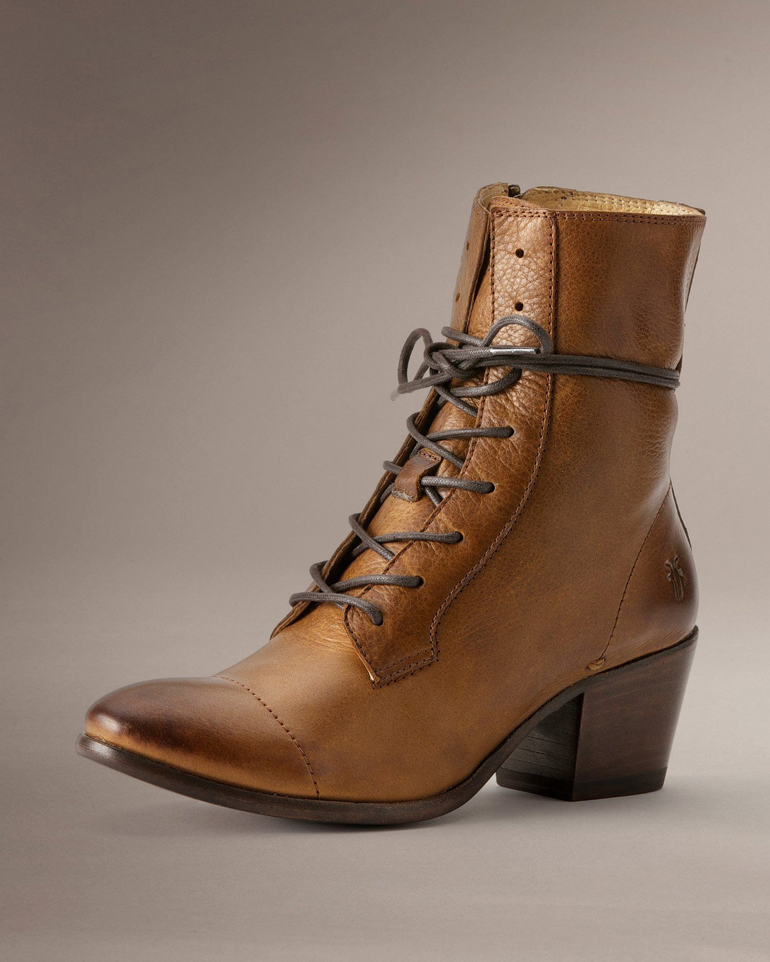 Courtney Lace Up - Women_Boots_Casuals - The Frye Company