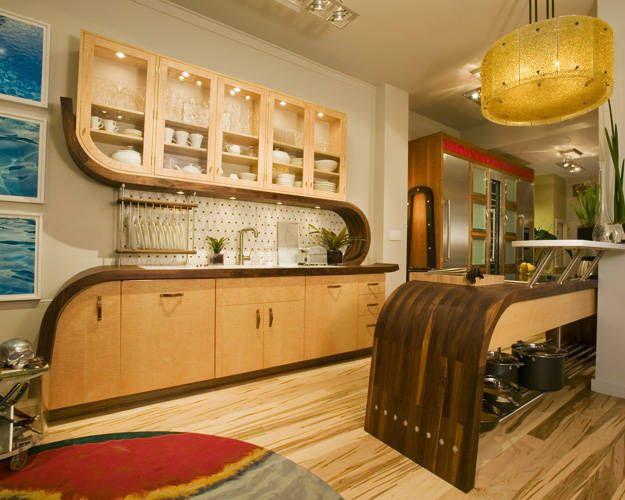 Art Deco Kitchen Grufti art deco Pinterest Art deco - dekorieren im art deco stil luxus wohnung