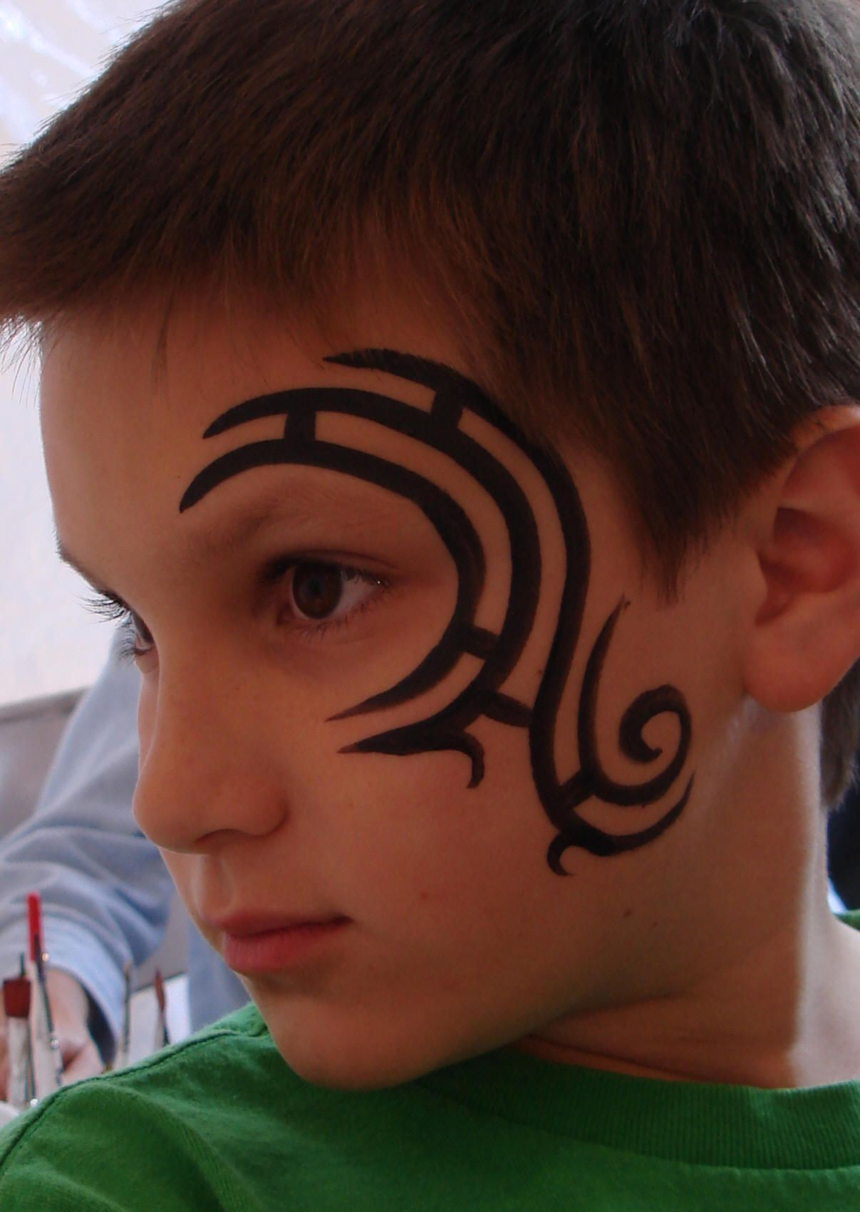 Pin By Julie Vandermude On Face And Body Art Eye Face Painting Face Painting Designs Tribal Face Paints