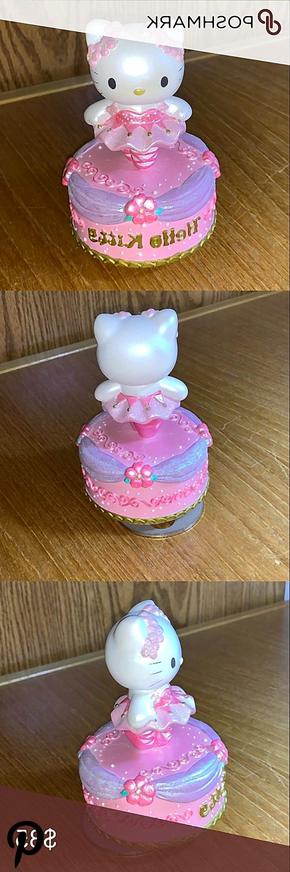 Sanrio vintage Hello Kitty rotating music box In good condition Probably bought in 2001 Hello Kitt Sanrio vintage Hello Kitty rotating music box In good condition Probabl...