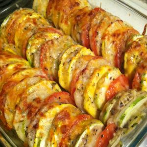 "Tomato, Potatoe,Zucchini, Summer Squash ""Casserole"" | eat.laugh.craft"