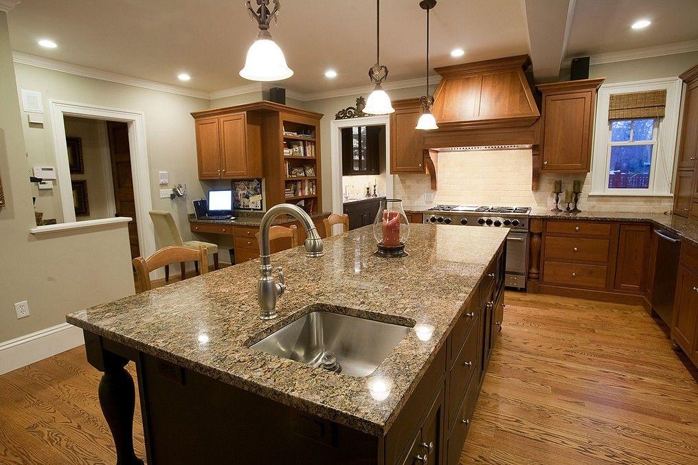 Kitchen Ideas Espresso Cabinets new-caledonia-granite-with-espresso-cabinets-ideas | kitchen