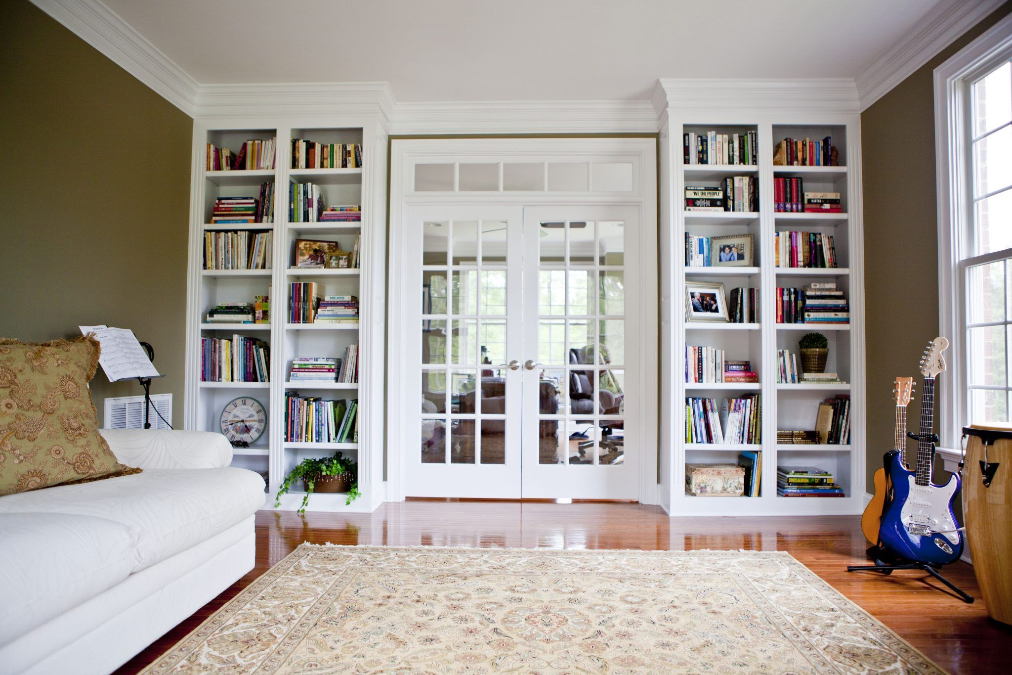 Blog at home with books close book cases pinterest entry hallway