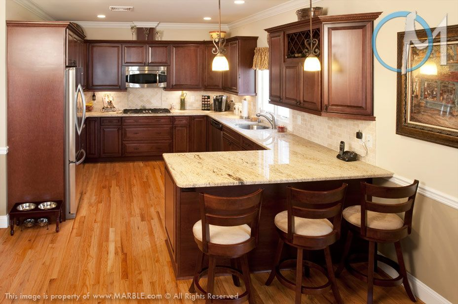 This simple and functional kitchen features Astoria