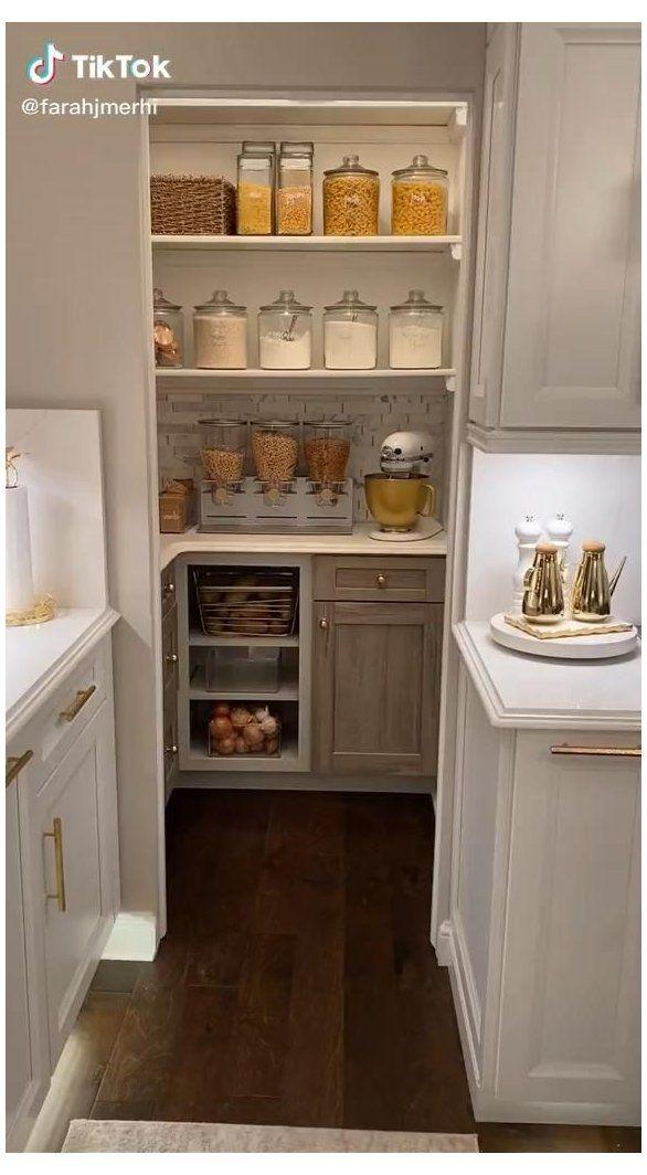 no pantry storage