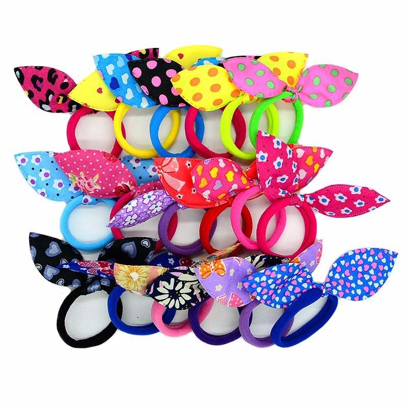 10PCS Cheveux Liens bandeaux élastique Anneau Bande de Caoutchouc en épingle à cheveux Hair Accessories