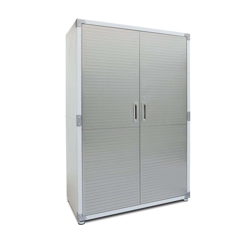 Seville Classics Ultrahd Mega Storage Cabinet Sam S Club Storage Cabinet Adjustable Height Workbench Garage Cabinets