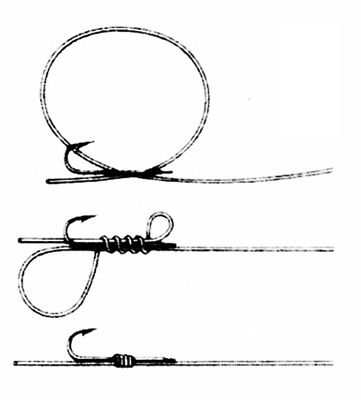 how to tie a fishing hook fishing knots fish bait