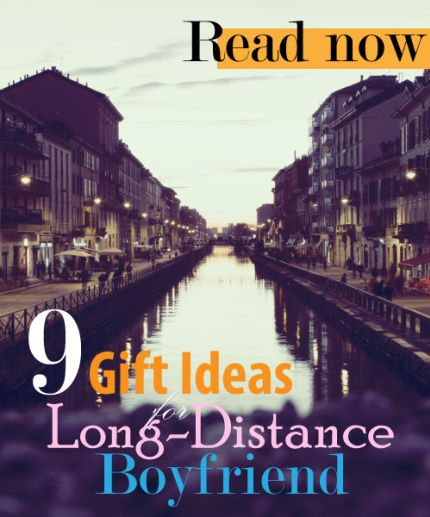 Christmas gift long distance relationship