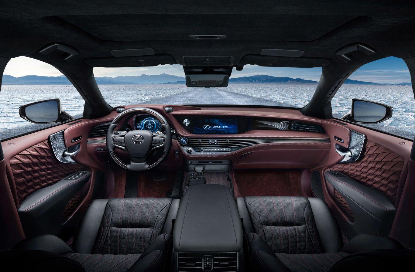Lexus LS 500h 2017 el prometido híbrido para la gran