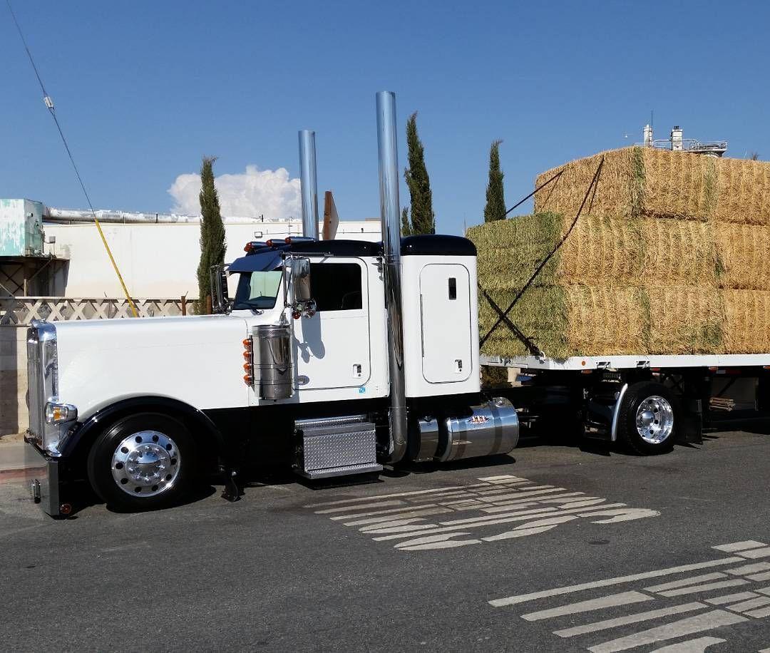 Instagram | Hay trucks | Trucks, Big rig trucks, Peterbilt ...