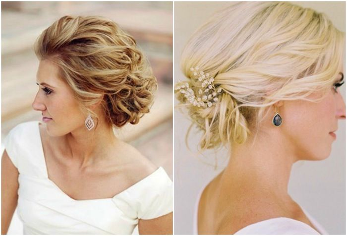 Romantic Wedding Hair With Veil