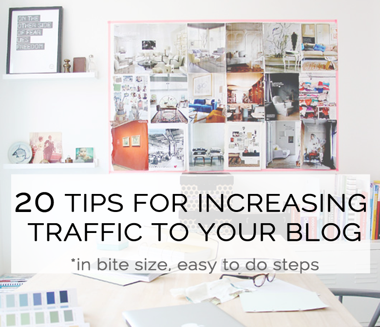 4c89908ce00 20 ways to increase traffic to your blog // Session 1 - Bloggers Bazaar