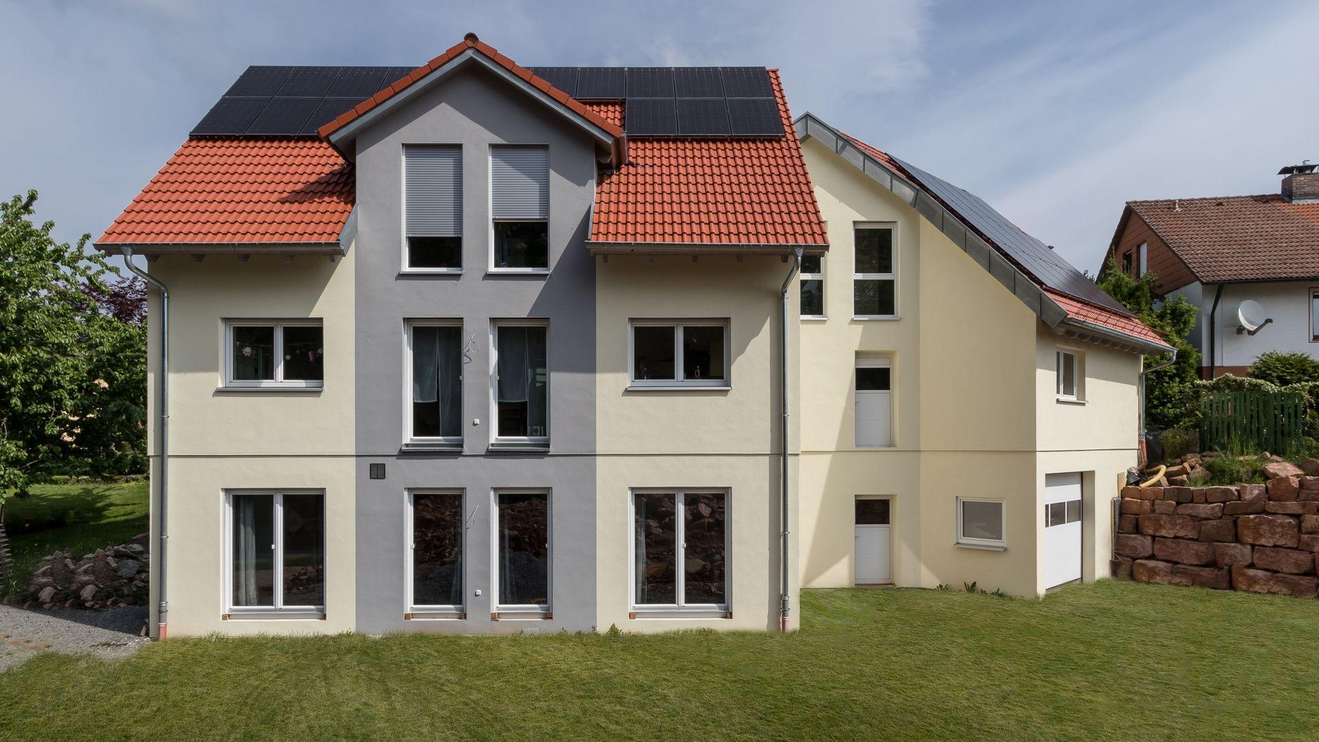 Großzügiges Einfamilienhaus auf einem verzwickten
