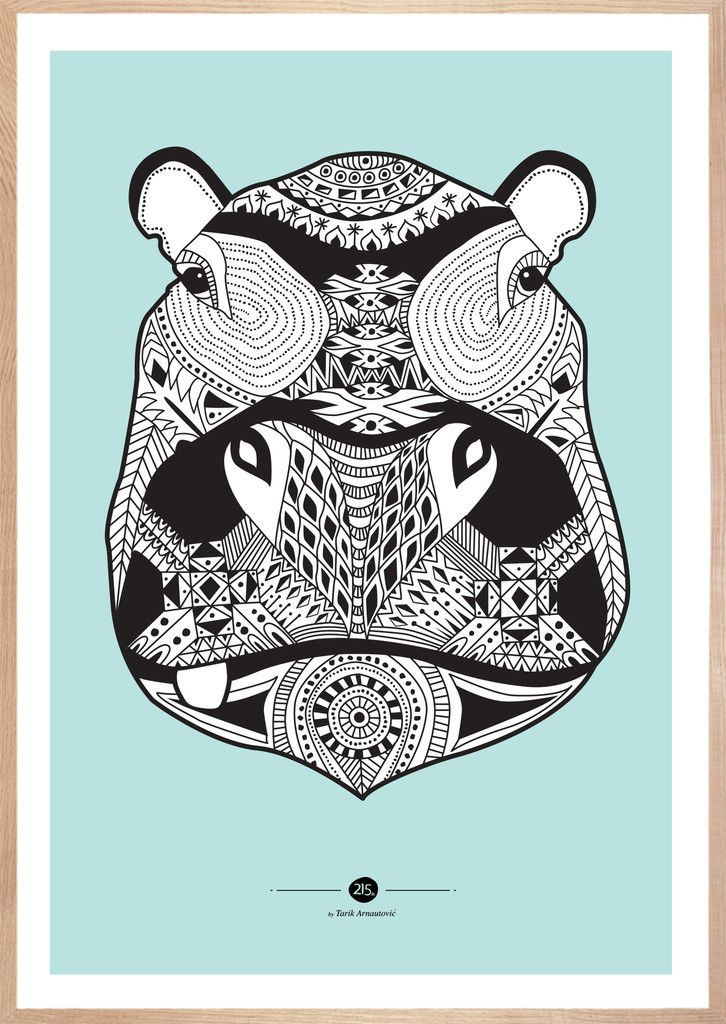 Inca Hippo Hippos Love Pinterest Drawings Illustrations And