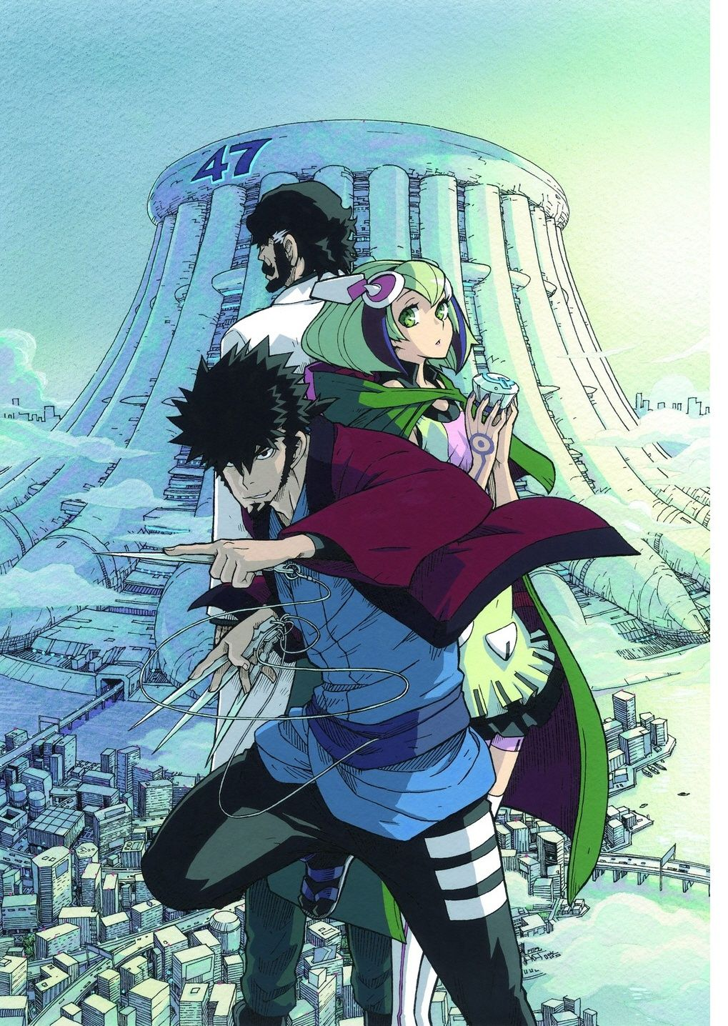 New animation in Jan. 2016 [Dimension W] Anime