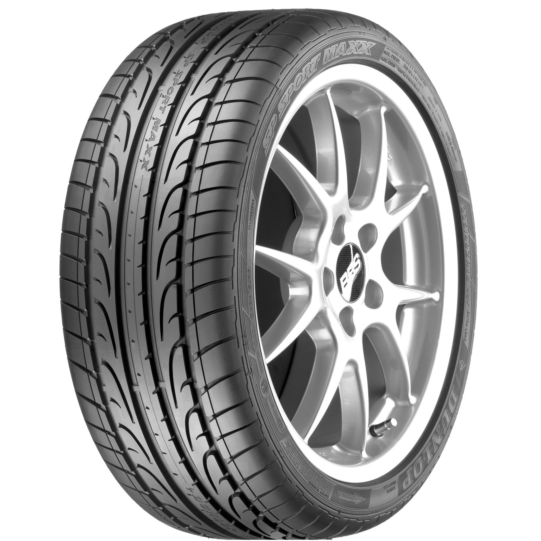 Dunlop SP Sport Maxx GT Tire 265 40R21XL STDNON RATED BW 265 40 21