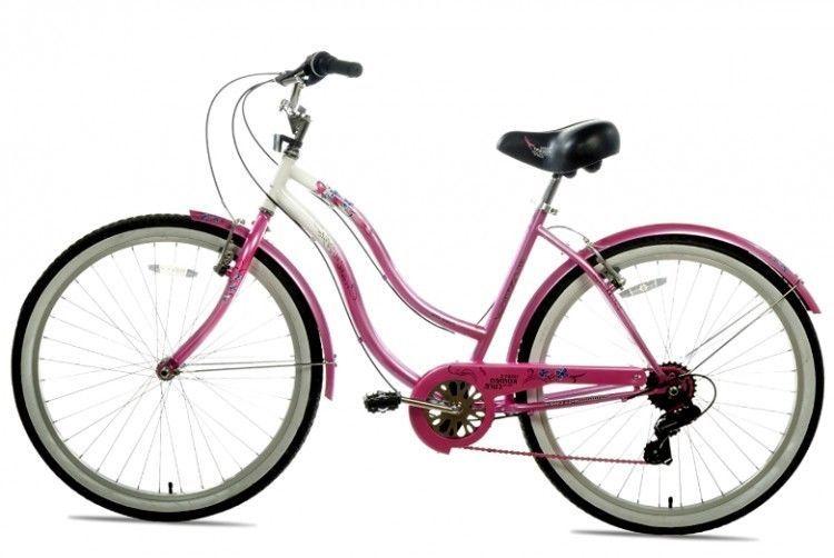 Women Beach Cruiser Bicycle 7 Speed Hybrid Saddle Seat Rear Coaster Brake 26 Susangkomen Beach Cruiser Bicycle Bicycle Beach Cruiser