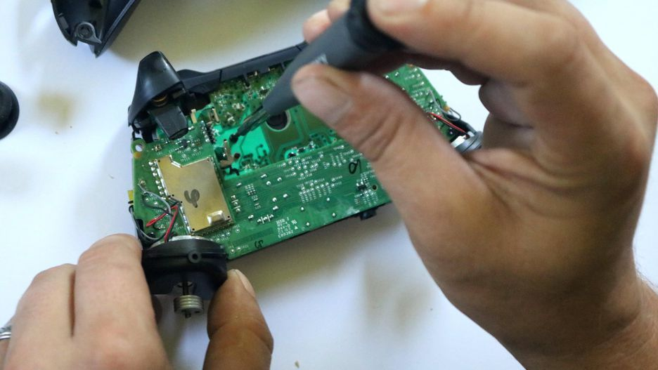 how to fix xbox one controller thumbstick xbox one controller repair