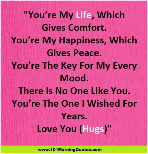 Good Morning Love Romantic Sms : Good morning messages for wife
