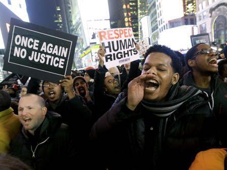 Eric Garner Grand Jury Decision Inspires Massive NY Protest, Feds To Investigate