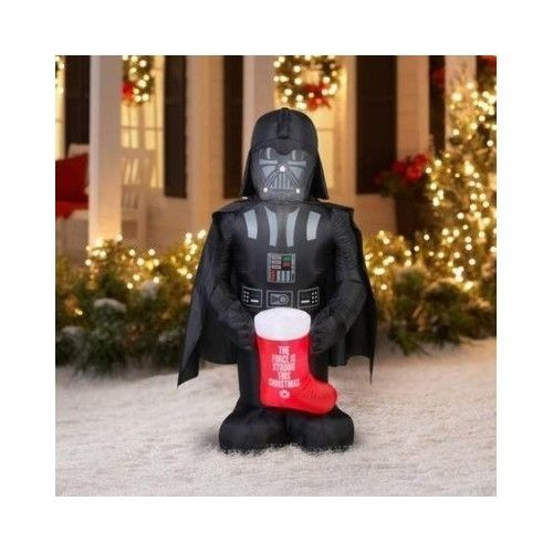 inflatable darth vader star wars christmas outdoor decoration yard patio garden