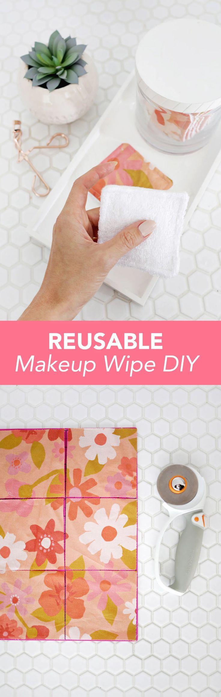 Reusable Makeup Wipe DIY Wipes diy, Diy makeup wipes
