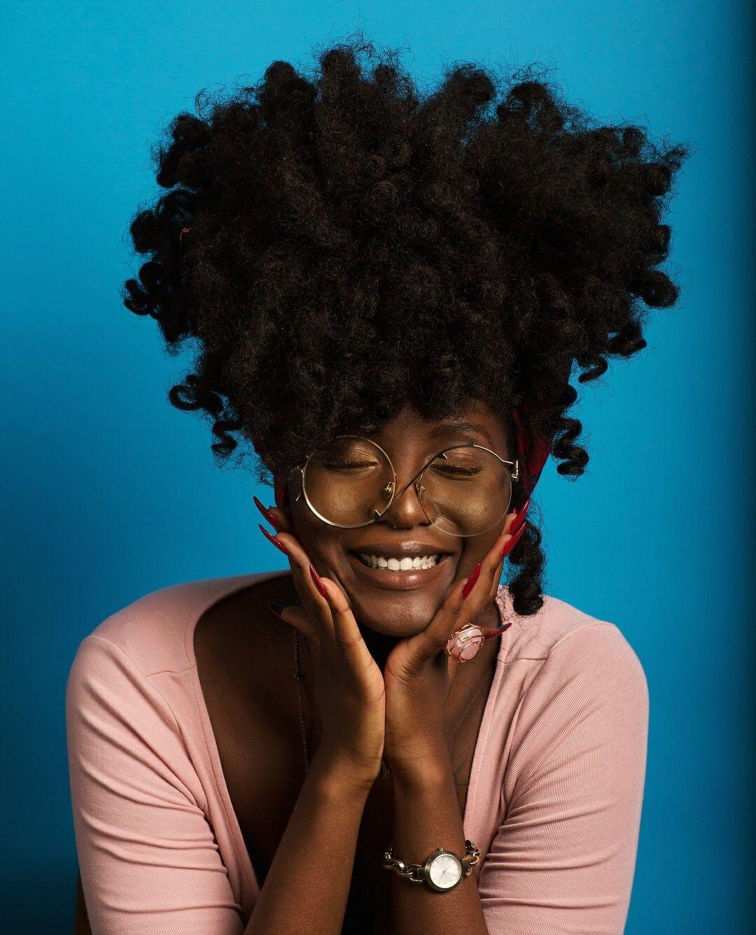 Natural hair people pinterest natural black girls and black