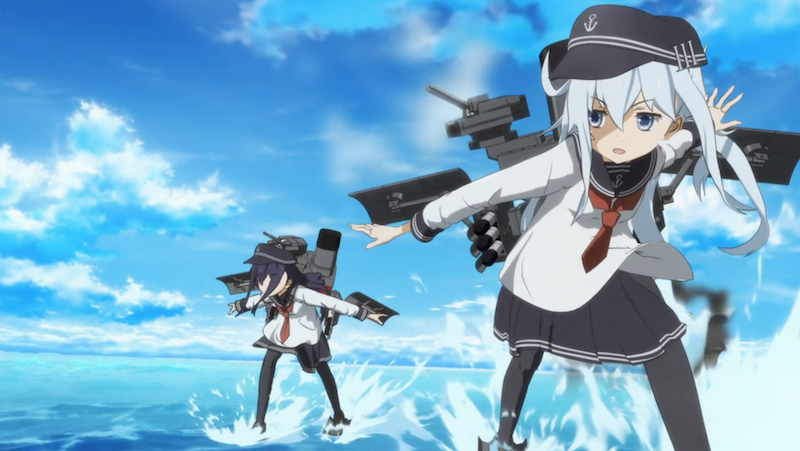 Early Impressions KanColle Episode 1 Kantai collection
