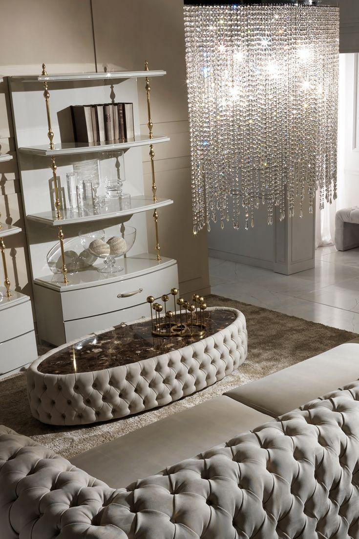 Italian Contemporary Cut Crystal Pendant Droplet Chandelier ...