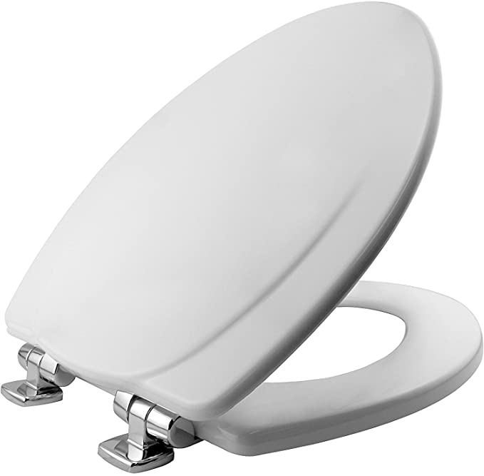Bemis Lift Off Elongated Closed Front Toilet Seat In Biscuit